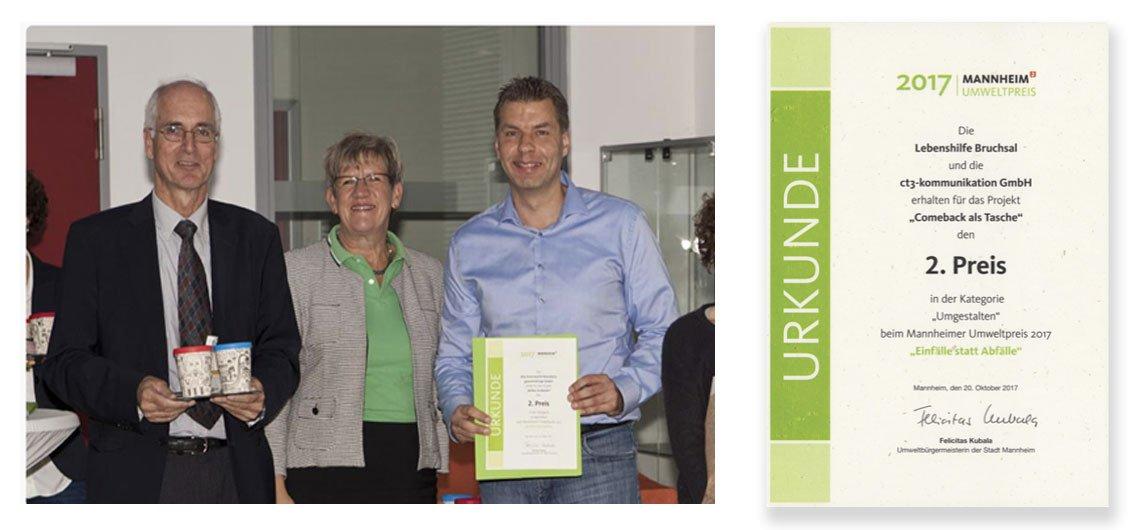 Umweltschutzpreis der Stadt Mannheim 2017
